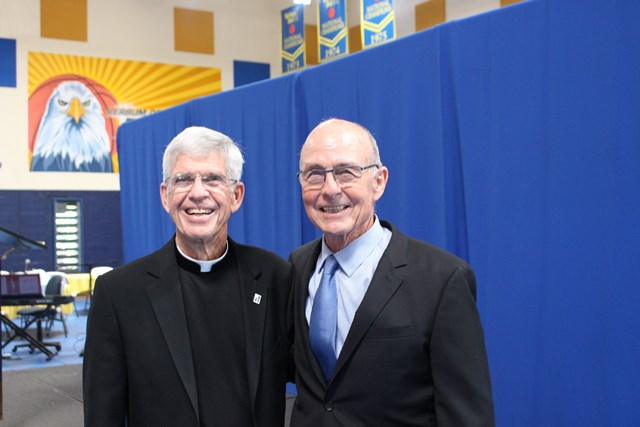 Fr. P and Rob Smith