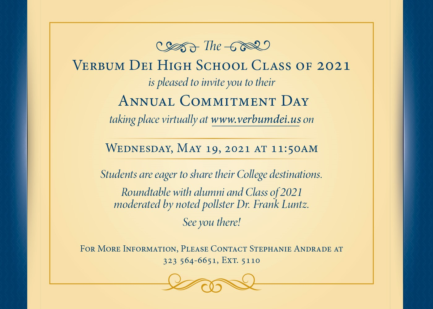 Commitment Ceremony Invite Page 2